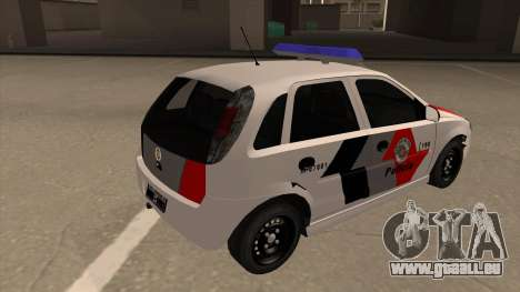 Chevrolet Corsa VHC PM-SP pour GTA San Andreas vue de droite