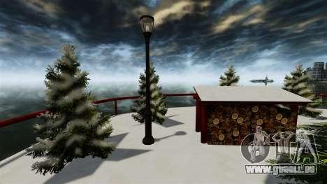 Île Christmas pour GTA 4 cinquième écran