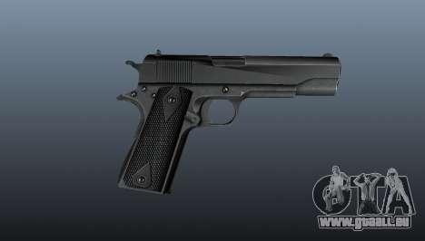 Pistolet M1911 v3 pour GTA 4 troisième écran