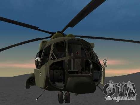 MIL MI-8 für GTA San Andreas Seitenansicht