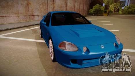 Honda CRX Del Sol pour GTA San Andreas laissé vue
