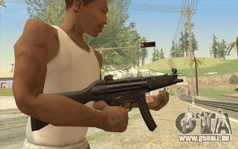 HK MP5 pour GTA San Andreas
