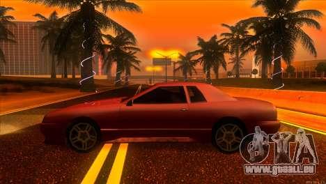 Elegy 2013 JDM pour GTA San Andreas laissé vue