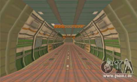 Andromada GTA V pour GTA San Andreas vue de côté