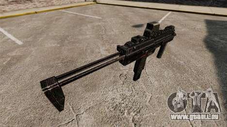 HK MP7 Maschinenpistole v1 für GTA 4 Sekunden Bildschirm
