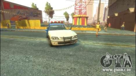 Polizei von GTA 5 für GTA 4 linke Ansicht
