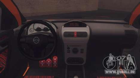 Chevrolet Montana Combo für GTA San Andreas Innenansicht