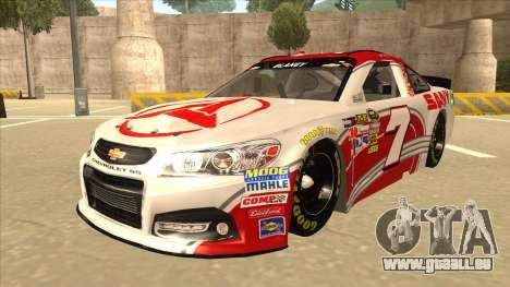 Chevrolet SS NASCAR No. 7 Sany pour GTA San Andreas