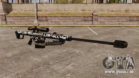 Le Barrett M82 sniper rifle v16 pour GTA 4