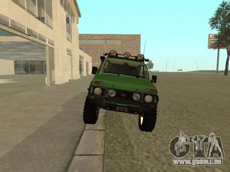 VAZ 21213 Niva 4x4 Off Road pour GTA San Andreas vue de droite