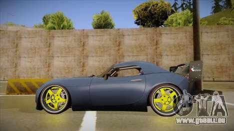 Pontiac Solstice Rhys Millen pour GTA San Andreas sur la vue arrière gauche