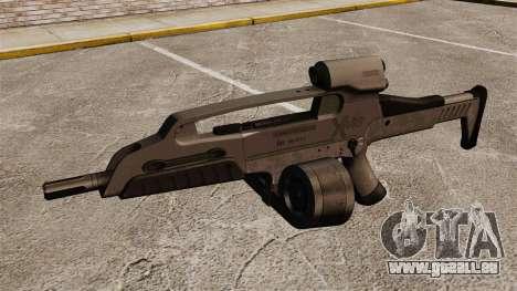 Automatique HK XM8 v3 pour GTA 4 troisième écran