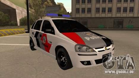 Chevrolet Corsa VHC PM-SP pour GTA San Andreas laissé vue