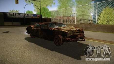 New Glenshit pour GTA San Andreas vue arrière