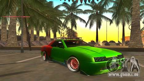 Elegy New Year for JDM pour GTA San Andreas
