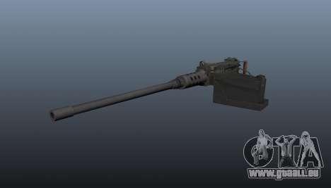Maxim-Maschinengewehr Browning M2HB für GTA 4