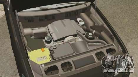 Ford Crown Victoria 2008 FBI für GTA 4 Innenansicht