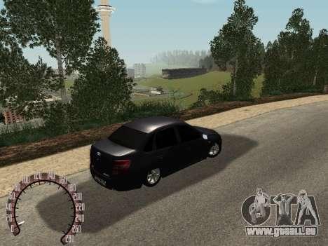 VAZ 2190 für GTA San Andreas linke Ansicht