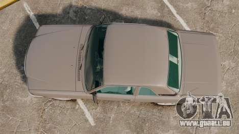 Volga gaz-3110 coupé pour GTA 4 est un droit