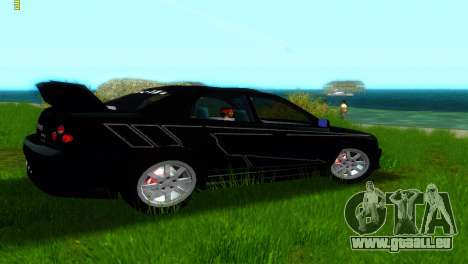 Subaru Impreza WRX v1.1 pour GTA Vice City vue arrière