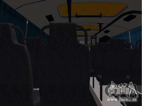 GROOVE School 32053-70 pour GTA San Andreas vue arrière