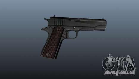 Pistolet M1911 v5 pour GTA 4 troisième écran
