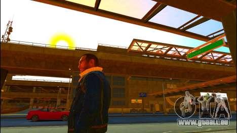 Jeans veste Trevor de GTA V pour GTA 4 secondes d'écran