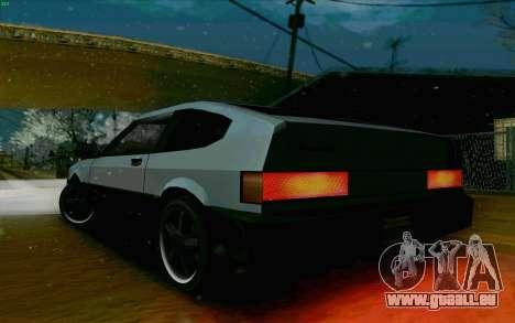 Blista Compact Type R für GTA San Andreas Rückansicht