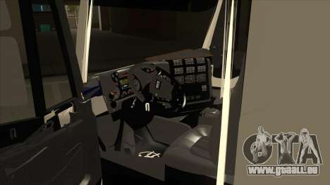 Hi-Land Kipper Iveco für GTA San Andreas Innenansicht