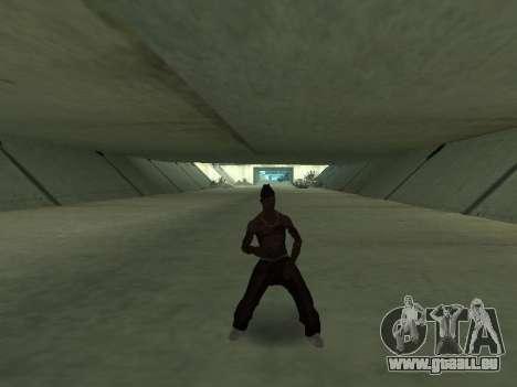 Ils dansent pour GTA San Andreas deuxième écran