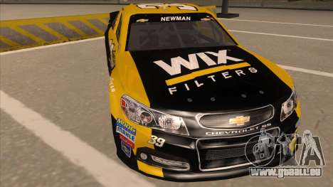 Chevrolet SS NASCAR No. 39  Wix Filters für GTA San Andreas linke Ansicht