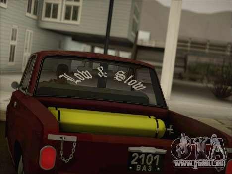 VAZ 2101 Resto für GTA San Andreas Seitenansicht