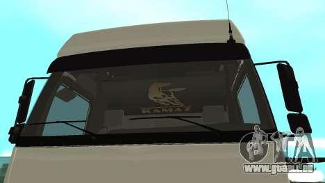 KAMAZ 5490 pour GTA San Andreas vue de droite