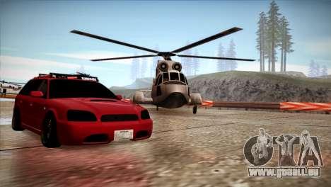 Subaru Legacy Wagon Hellaflush für GTA San Andreas