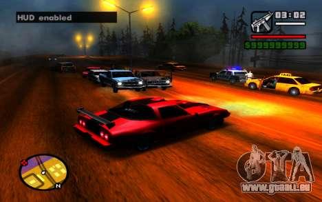 HUD ausblenden für GTA San Andreas dritten Screenshot