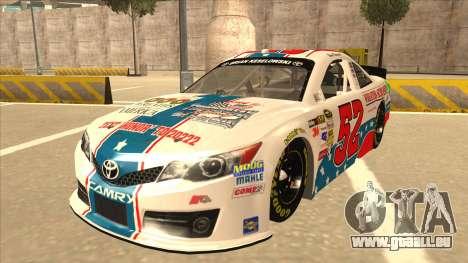 Toyota Camry NASCAR No. 52 TruckerFan für GTA San Andreas