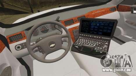 Chevrolet Impala BCSD 2010 [ELS] pour GTA 4 Vue arrière
