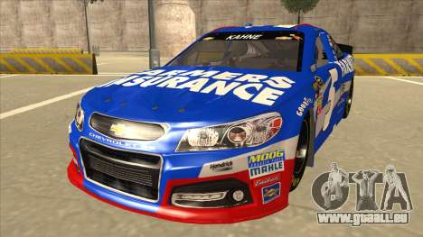 Chevrolet SS NASCAR No. 5 Farmers Insurance für GTA San Andreas