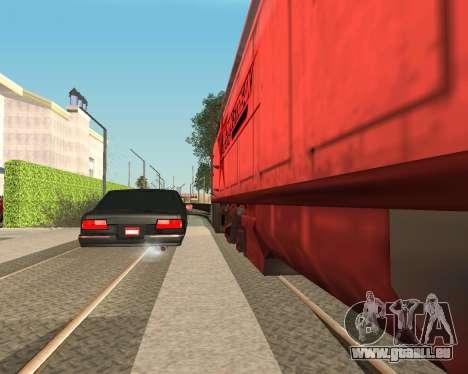 Tonique Premier V2 pour GTA San Andreas laissé vue