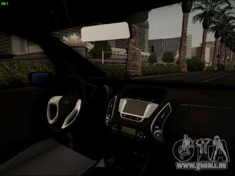 Hyundai ix20 für GTA San Andreas Seitenansicht