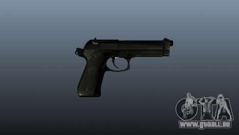 Beretta M9 pistolet pour GTA 4 troisième écran