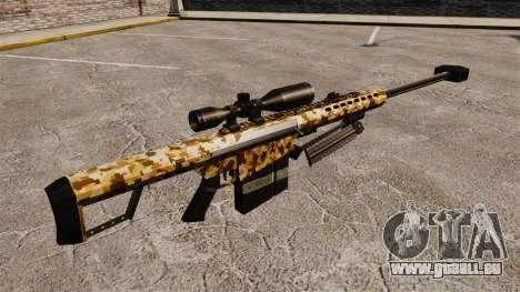 Le v10 de fusil de sniper Barrett M82 pour GTA 4 secondes d'écran