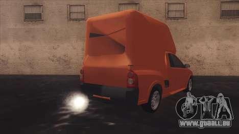 Chevrolet Montana Combo pour GTA San Andreas vue de côté