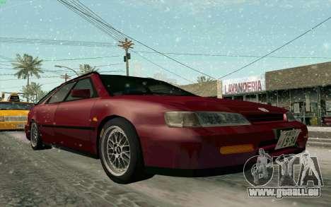Honda Accord Wagon für GTA San Andreas Innenansicht