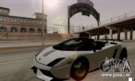 ENB VI pour les PC bas pour GTA San Andreas quatrième écran