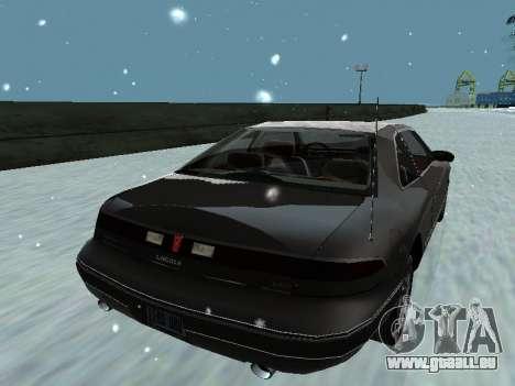 Lincoln Continental Mark VIII 1996 für GTA San Andreas Motor