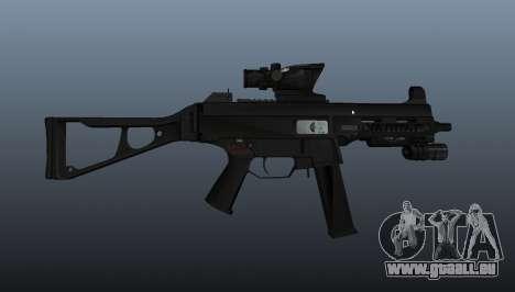 UMP45 mitraillette v1 pour GTA 4 troisième écran