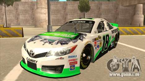 Toyota Camry NASCAR No. 18 Interstate Batteries für GTA San Andreas