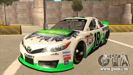 Toyota Camry NASCAR No. 18 Interstate Batteries für GTA San Andreas