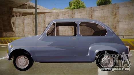 Zastava 750 Fico für GTA San Andreas linke Ansicht